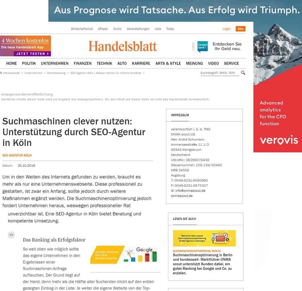 SEO Agentur Köln